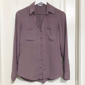 Express Slim Portofino Blouse